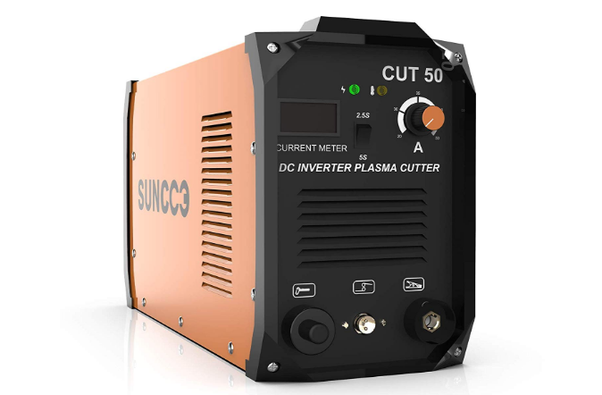 SUNCOO Plasma Cutter Cut50 Electric DC Inverter Portable Metal Plasma Cutting Machine