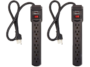 AmazonBasics 6-Outlet Surge Protector Power Strip